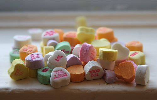 Love Heart Sweets Messages. Candy hearts