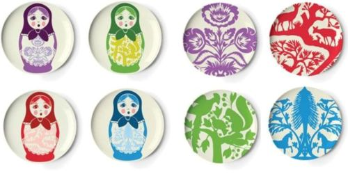 Thomas Paul melamine plates