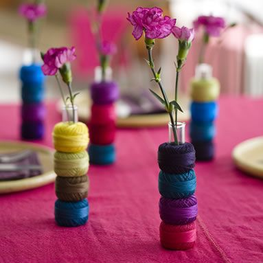 centerpiece thread spools