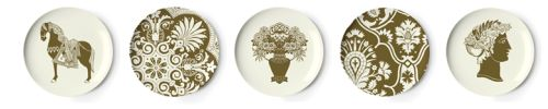 artifacts melamine plates