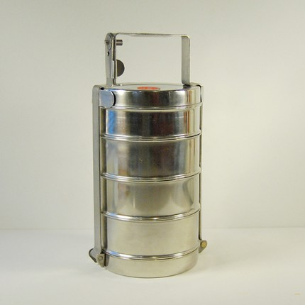 Vintage tiffin set