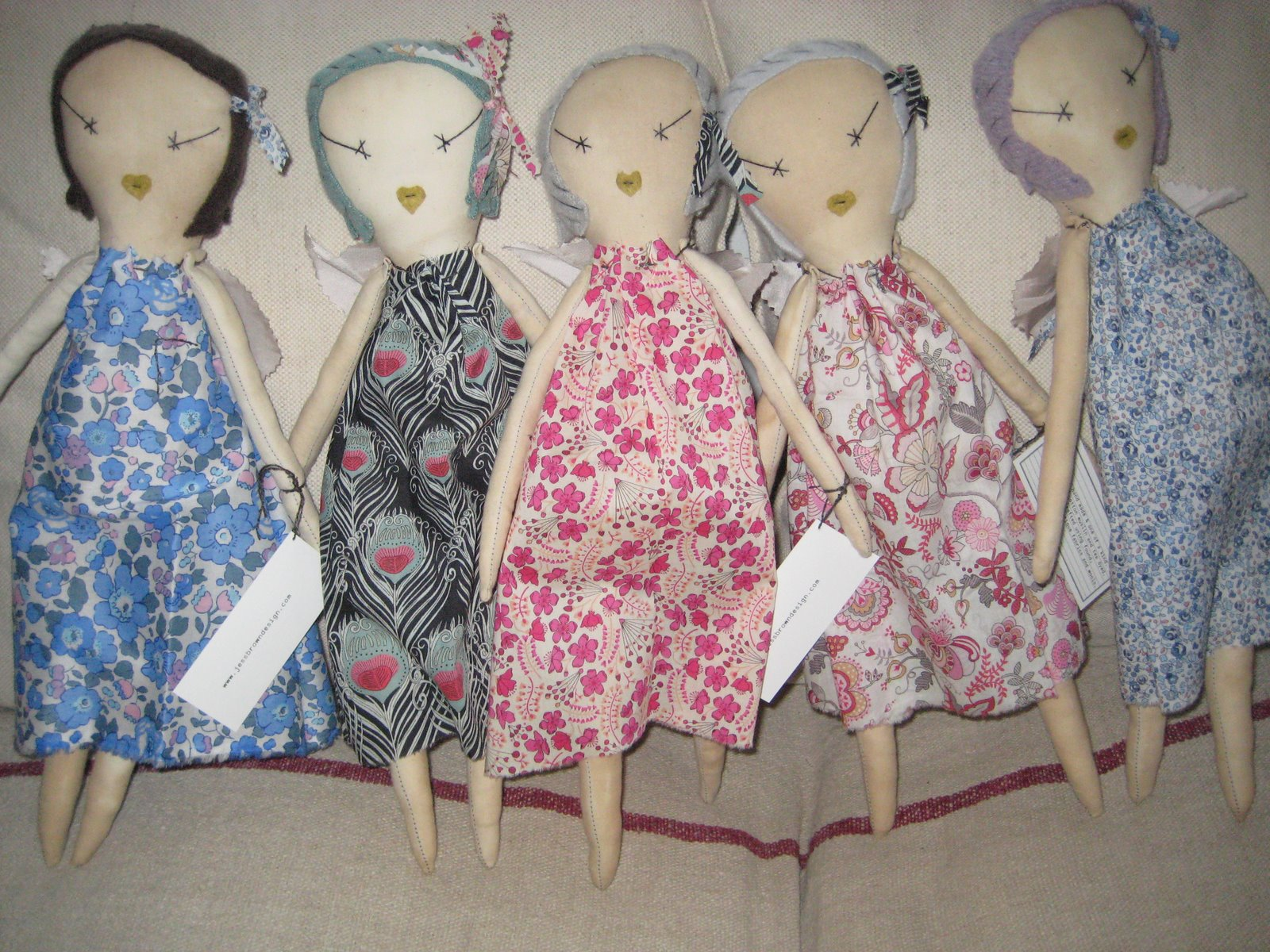 jess brown dolls liberty fabrics