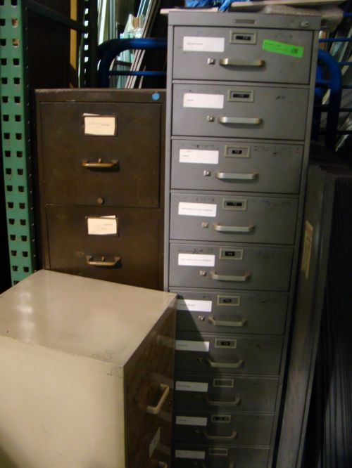 Build It Green vintage file cabinets