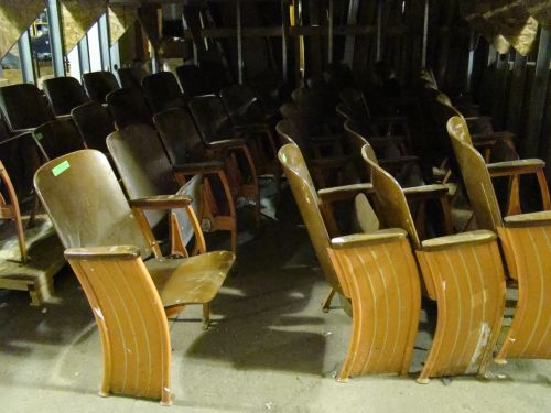 vintage movie seats