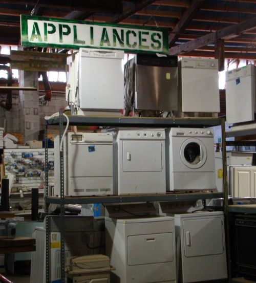 Build It Green appliances