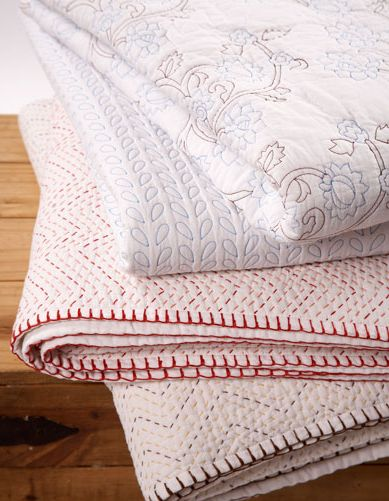 Coverlets shams