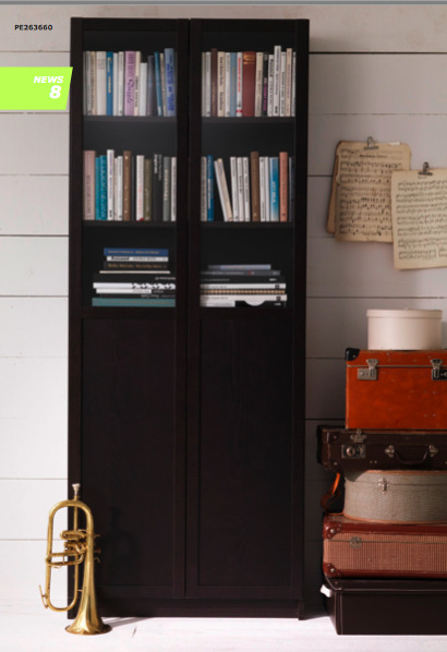 Billy Bookcase Half Doors : Live From B5 Ikea Wishlist
