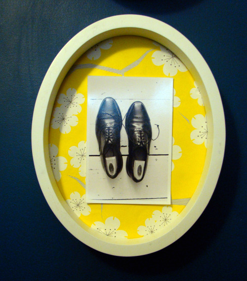 Shoes framed