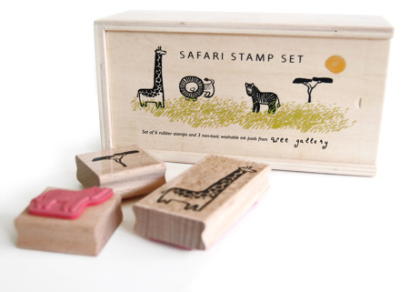 Wee Gallery stamps