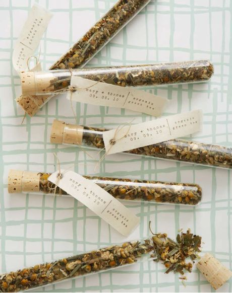 Handmade Weddings Test Tube Party Favors